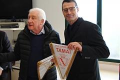 amichevole Under 17 ITALIA-SERBIA gagliardetto delegazione Italia
