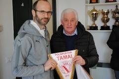 amichevole Under 17 ITALIA-SERBIA gagliardetto delegazione Serba