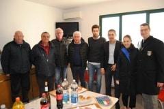 amichevole Under 17 ITALIA-SERBIA rinfresco delegazione