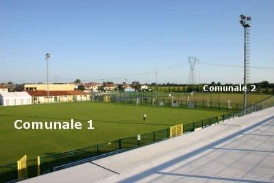 Campi di gioco: comunale 1, comunale 2